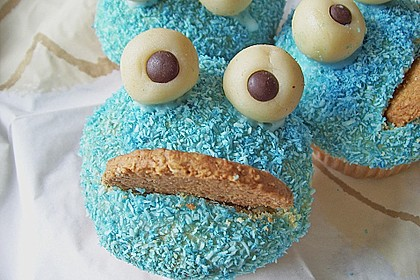 Krümelmonster-Muffins 366