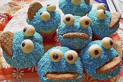 Krümelmonster-Muffins 9