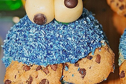 Krümelmonster-Muffins 369