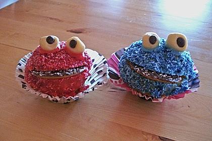 Krümelmonster-Muffins 163