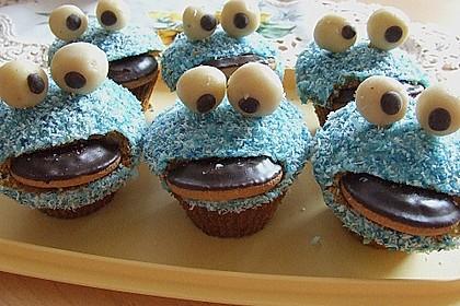 Krümelmonster-Muffins 16