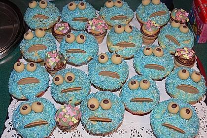 Krümelmonster-Muffins 157