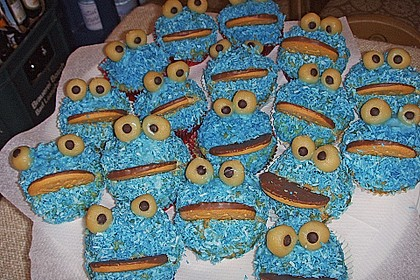 Krümelmonster-Muffins 96