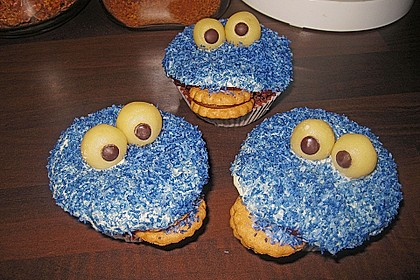Krümelmonster-Muffins 247