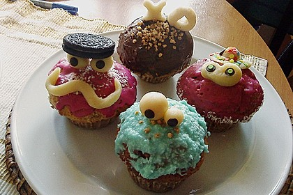 Krümelmonster-Muffins 253