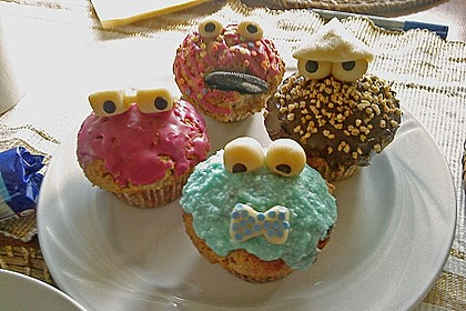Krümelmonster-Muffins 171