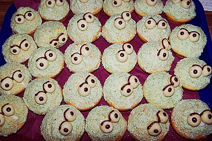 Krümelmonster-Muffins 323