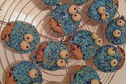 Krümelmonster-Muffins 477