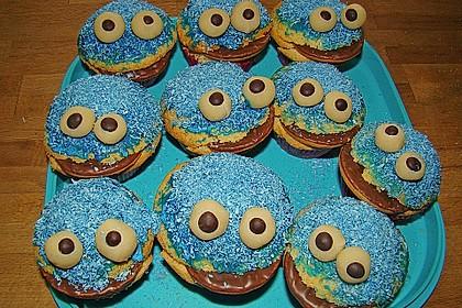 Krümelmonster-Muffins 69