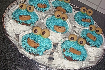 Krümelmonster-Muffins 136