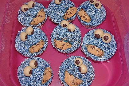 Krümelmonster-Muffins 252