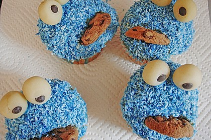 Krümelmonster-Muffins 126