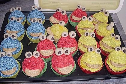 Krümelmonster-Muffins 27