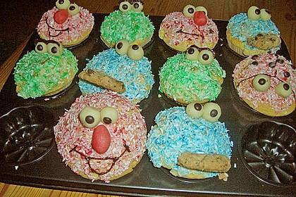 Krümelmonster-Muffins 226