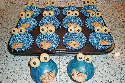 Krümelmonster-Muffins 87