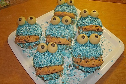 Krümelmonster-Muffins 299