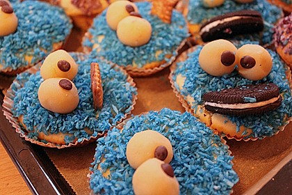Krümelmonster-Muffins 319