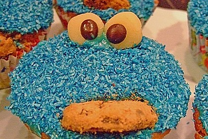 Krümelmonster-Muffins 146