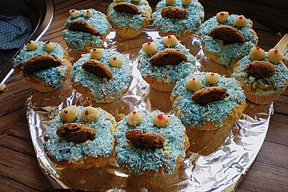 Krümelmonster-Muffins 350