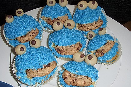 Krümelmonster-Muffins 38