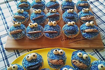 Krümelmonster-Muffins 50