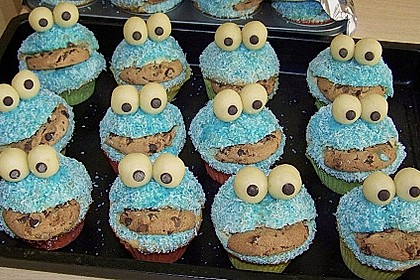 Krümelmonster-Muffins 154