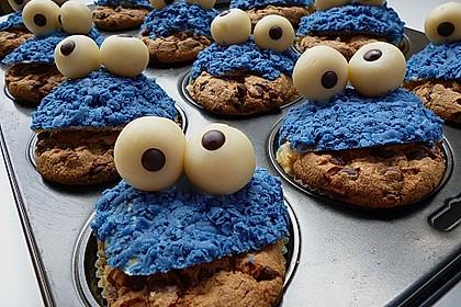 Krümelmonster-Muffins 81