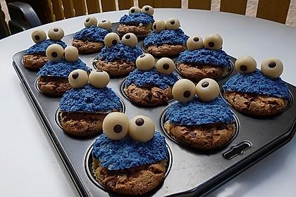 Krümelmonster-Muffins 55