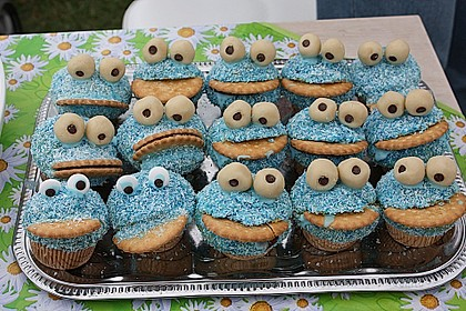 Krümelmonster-Muffins 84