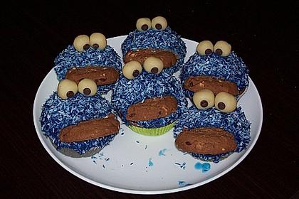 Krümelmonster-Muffins 156