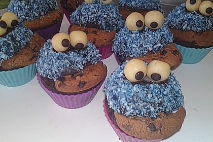 Krümelmonster-Muffins 389