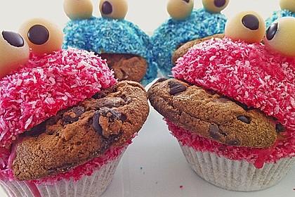 Krümelmonster-Muffins 119