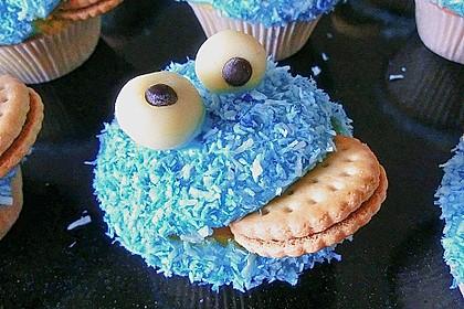 Krümelmonster-Muffins 10