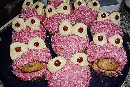 Krümelmonster-Muffins 51