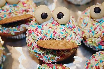 Krümelmonster-Muffins 36