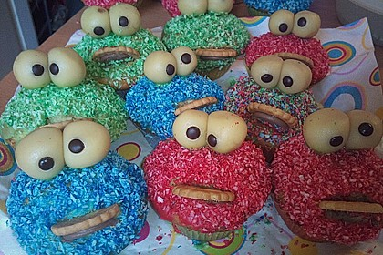Krümelmonster-Muffins 242