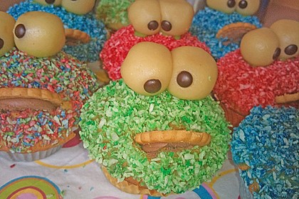 Krümelmonster-Muffins 179