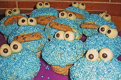 Krümelmonster-Muffins 178