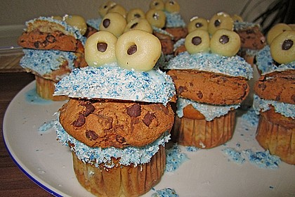 Krümelmonster-Muffins 76