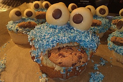 Krümelmonster-Muffins 410
