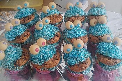 Krümelmonster-Muffins 187