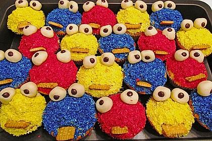 Krümelmonster-Muffins 85