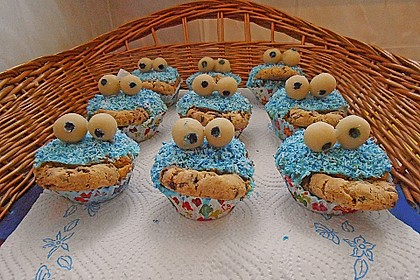 Krümelmonster-Muffins 349