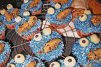 Krümelmonster-Muffins 383
