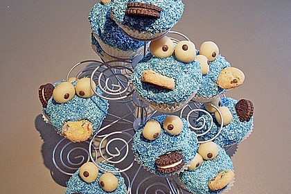 Krümelmonster-Muffins 246
