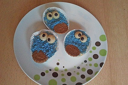 Krümelmonster-Muffins 164