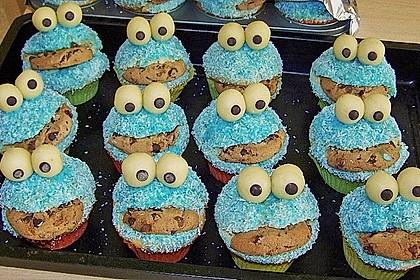 Krümelmonster-Muffins 244