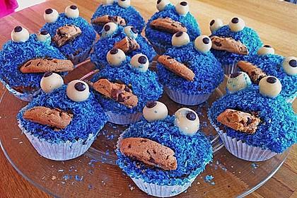Krümelmonster-Muffins 101