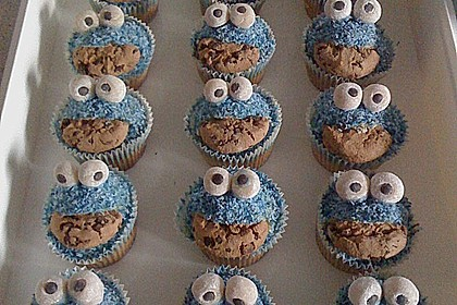Krümelmonster-Muffins 241