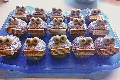 Krümelmonster-Muffins 400